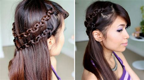 cute hairstyles headband braid cute hairstyles braids long hair hairstyles ideas