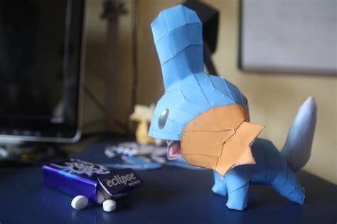 Mudkip Papercraft - 17 best images about papercraft on mudkip