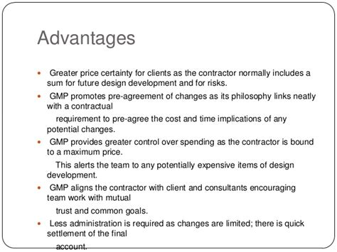 design and build contract advantages contracts and its types
