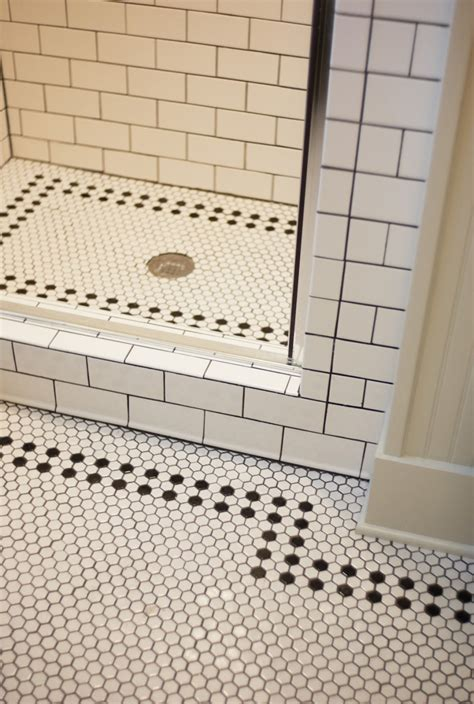 bathroom floor tile layout 30 bathroom hex tile ideas
