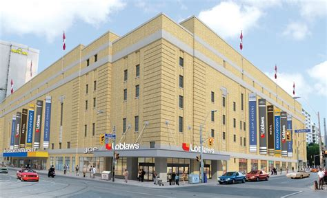 ryerson s mattamy athletics centre loblaws at the