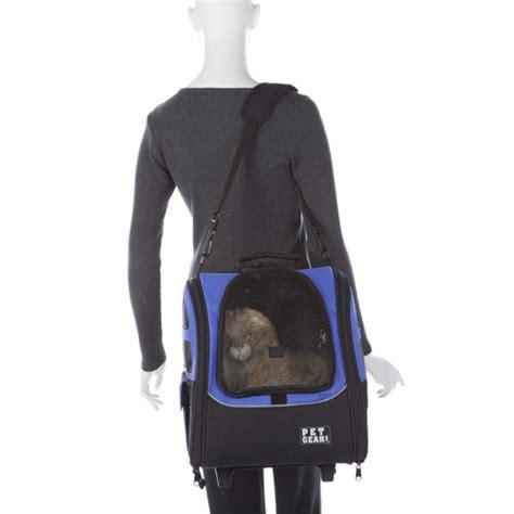 Lifepop Stereo Pet Carrier by I Go2 Traveler Pet Carrier In Blue Pg1240ob