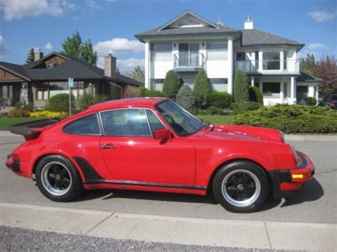 Porsche 930 For Sale Canada by Purchase Used 1987 Porshe 930 In Calgary Alberta Canada