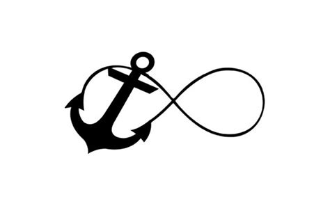 anchor and infinity infinity anchor i refuse to sink rubber st by terbearco