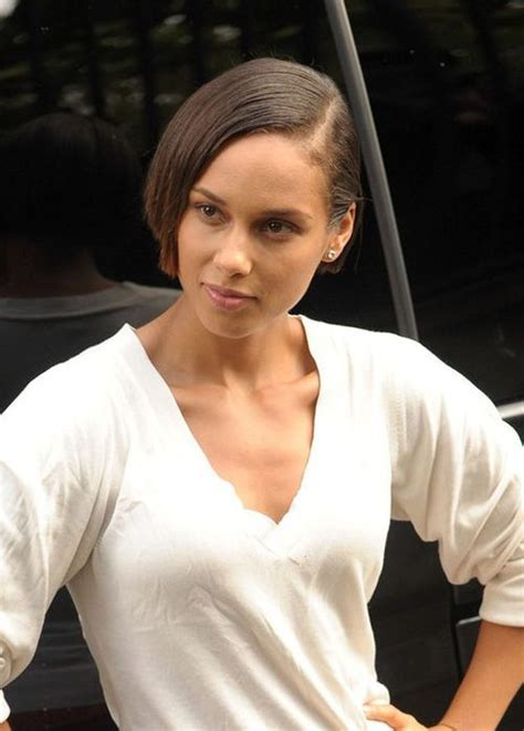 alicia keys new haircut 54 celebrity short hairstyles that make you say quot wow quot