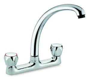awesome Kitchen Sink Plumbing Parts #7: san-marco-riviera-deckmixer-kitchen-tap.jpg