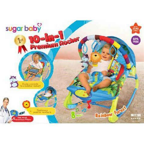 Bouncer Sugar A Great Day 3 Recline sewa sugar baby bouncer ayun murah di galaxi bekasi rental alat bayi