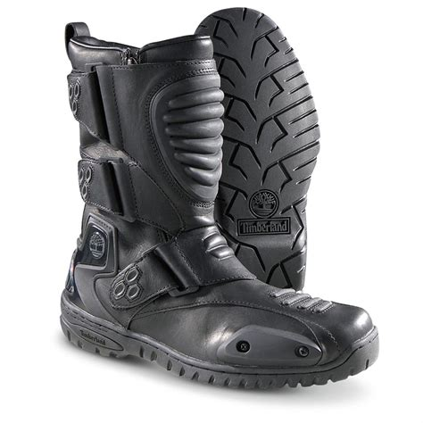 discount motorcycle boots s timberland 174 downshifter biker boots black 136463