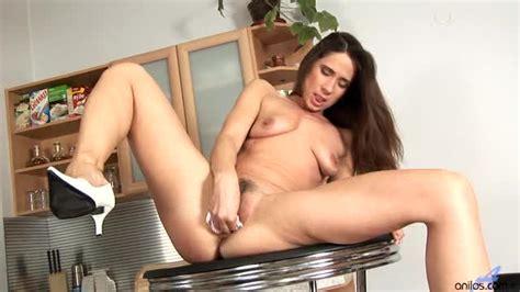 Hairy Brunette Milf Orgasm Alpha Porno
