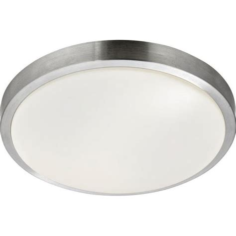 Searchlight Aluminium And Polycarbonate Ip44 Low Energy Low Energy Flush Ceiling Lights