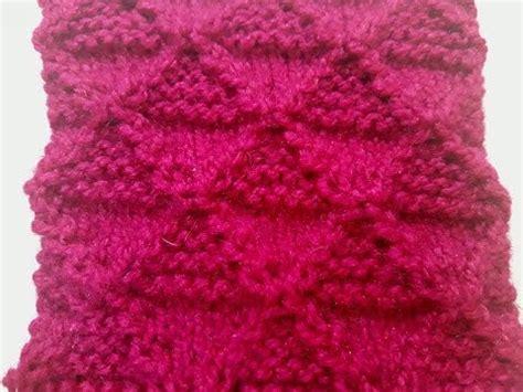 diamond shaped knitting pattern diamond shape knitting stitch pattern no 17 hindi