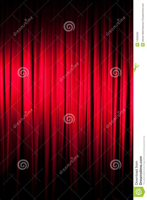 The Velvet Curtain Series Stock Photography Image 14025002