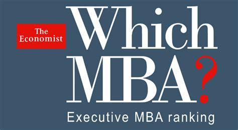 Ie Business School Executive Mba by The Economist Executive Mba Ranking Ie Business School