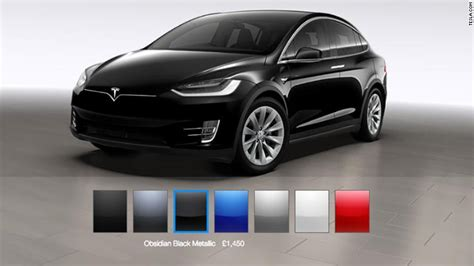 tesla colors tesla eliminates two color options for its cars