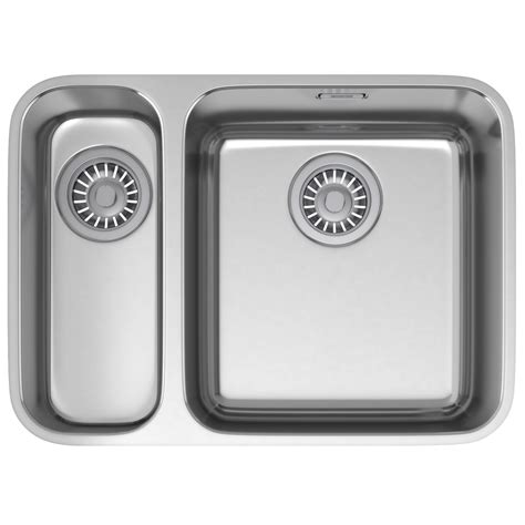 franke stainless steel sinks undermount franke largo lax 160 36 16 stainless steel undermount