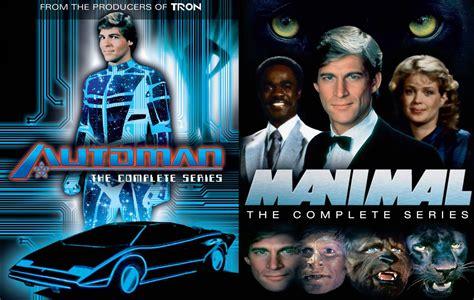 Band Tv Series Complete review manimal automan the complete series slug magazine