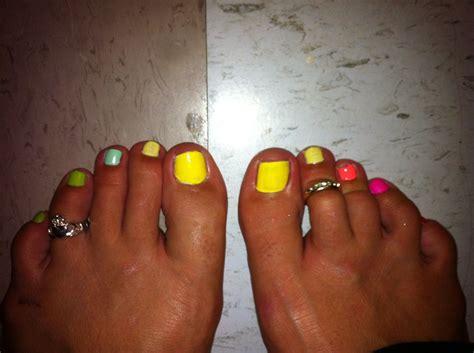 multi colored nails multi colored nails nails