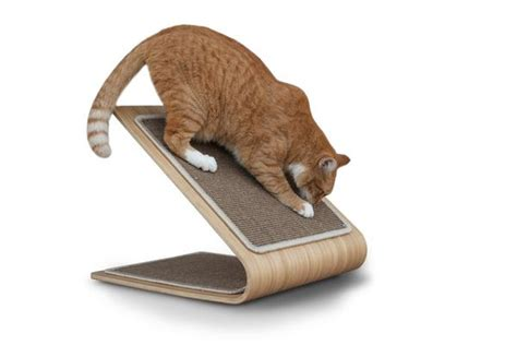 contemporary cat scratchers cat scratch post
