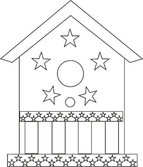 birdhouse coloring pages birdhouse coloring page color book