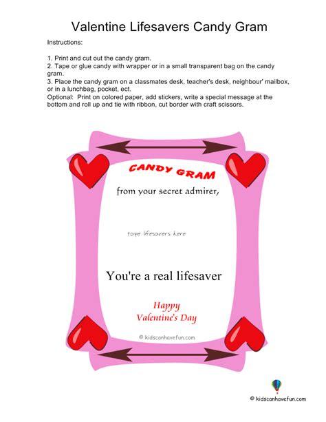 valentinelifesaverscandygram kidscanhavefun blog