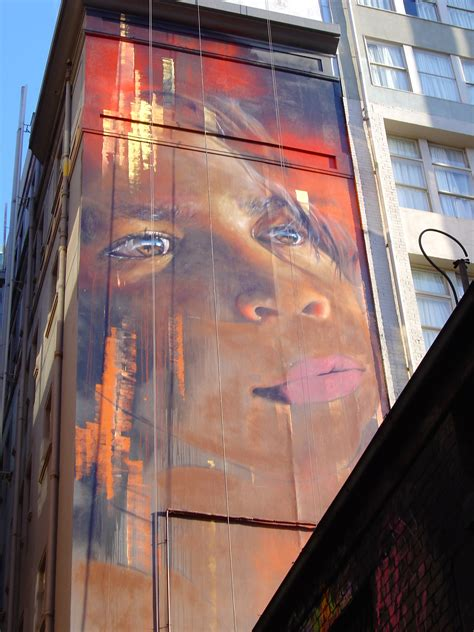 spray painter in melbourne adnate bigger and better in hosier black