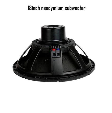 Speaker Rcf 18 Inch Subwoofer speakers 2pcs lot speaker 18 inch neodymium subwoofer for