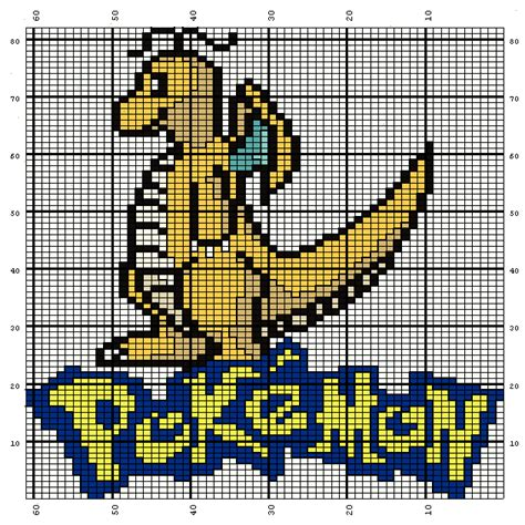 charting knitting patterns grille point de croix pokemons on