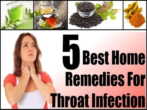 5 best home remedies for throat infection