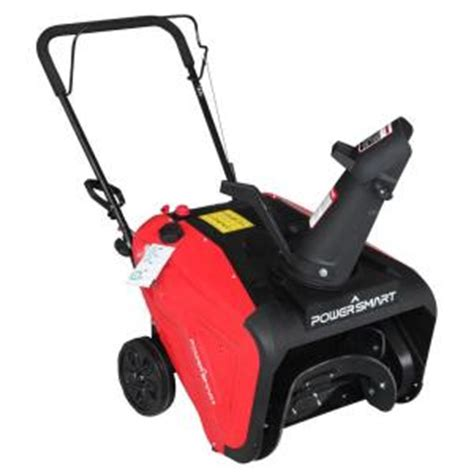 powersmart 21 inch single stage gas snow blower blowers