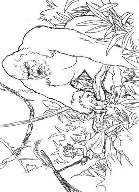 king kong coloring pages printable king kong coloring pages print class stuff pinterest