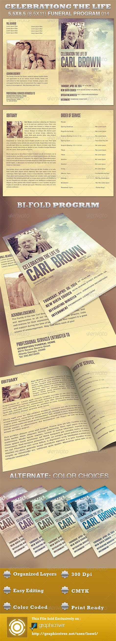 http graphicriver net item funeral service business card template 10998645 celebrating the funeral program template 014