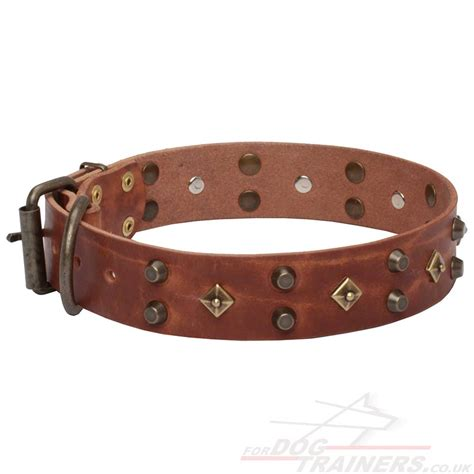 handmade collar designs new leather collar 163 45 90