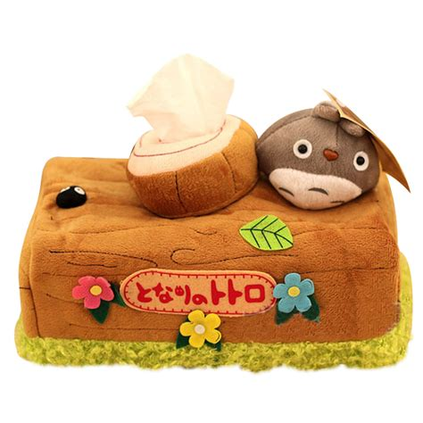 household gifts 1pcs lovely chinchillas totoro plush doll toy tissue boxes