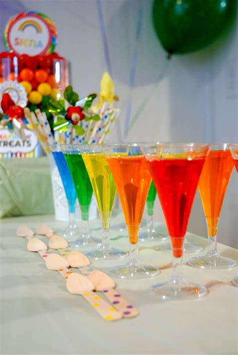 Birthday Themed Jello Shots   pinterest discover and save creative ideas