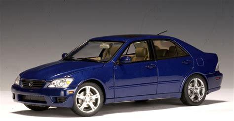lexus models 2000 autoart 2000 lexus is300 blue lhd 78702 in 1 18