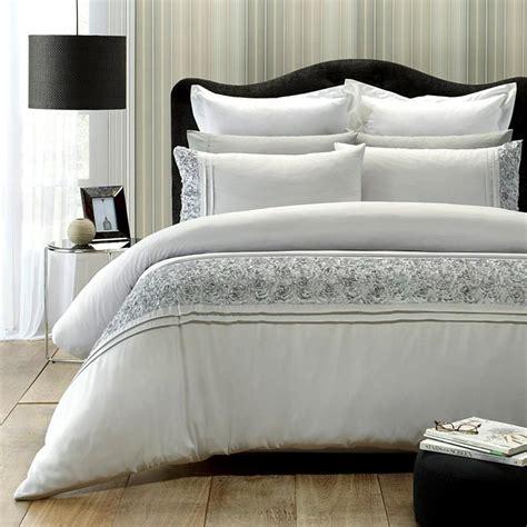 grey and cream bedding monet grey cream appliqu 233 d soft polyester queen king quilt