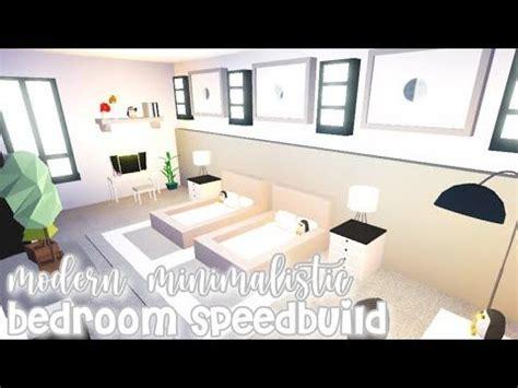 modern minimalistic futuristic house bedroom speed build