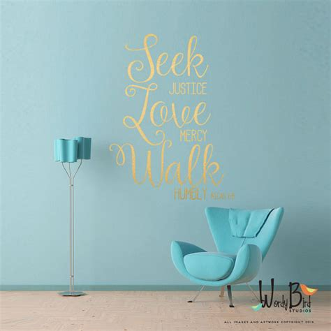 Bible Verse Stickers For Walls scripture christian wall decal gold wall sticker