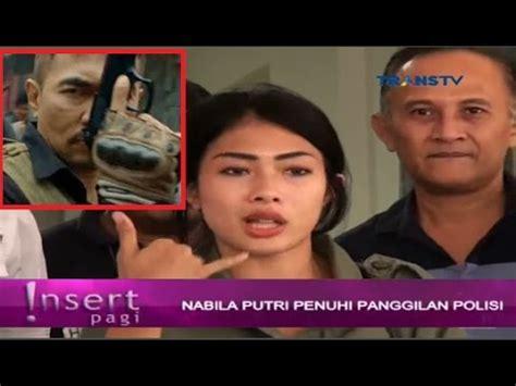 film bioskop oktober 2016 nabila putri diperiksa polisi terkait senpi aa gatot pada