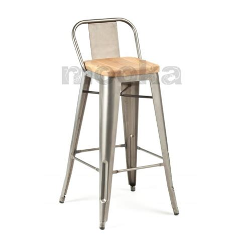 tolix bar stools with back tolix wide back barstool mooka modern furniture