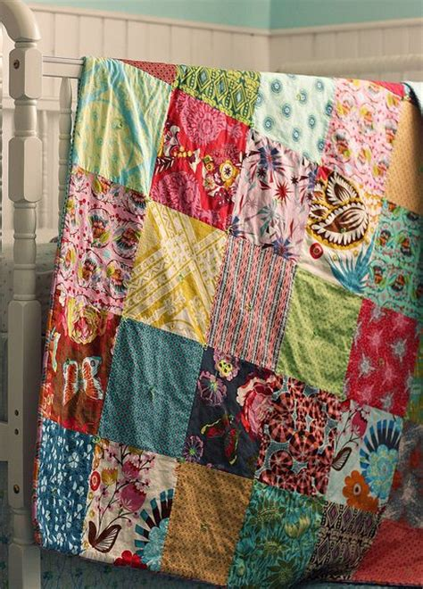 Simple Patchwork Quilts - simple quilt made from horner fabrics