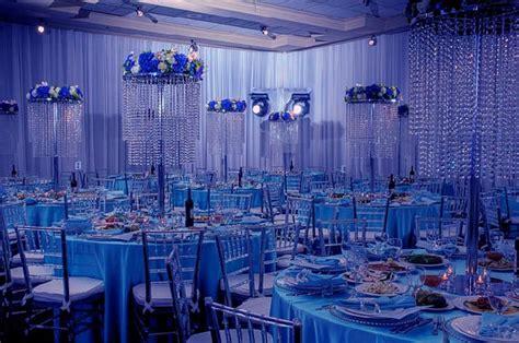 Blue And White Wedding Reception Decorations by Blue Indoor Wedding Ceremony Decorationwedwebtalks