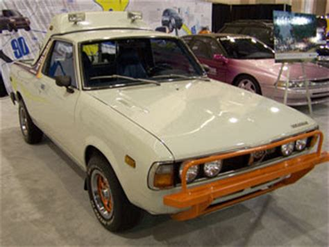 1993 subaru brat for automobile brand s of the past the ugliest most