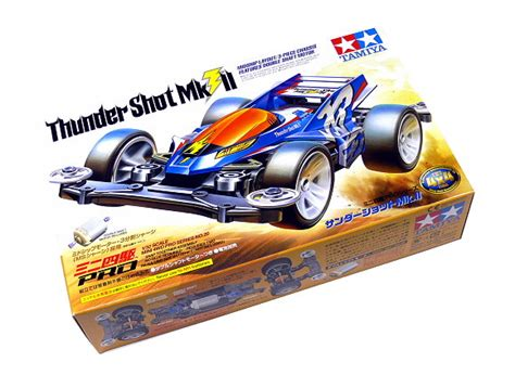 Tamiya 18620 Thunder Mk Ii tamiya model mini 4wd racing car 1 32 thunder mk ii