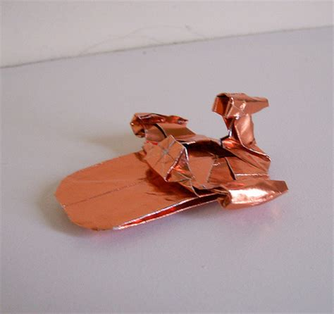 Origami Millennium Falcon - wars origami