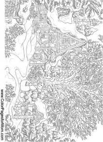 Landscape Coloring Pages For Adults Free Coloring Pages Of Landscape