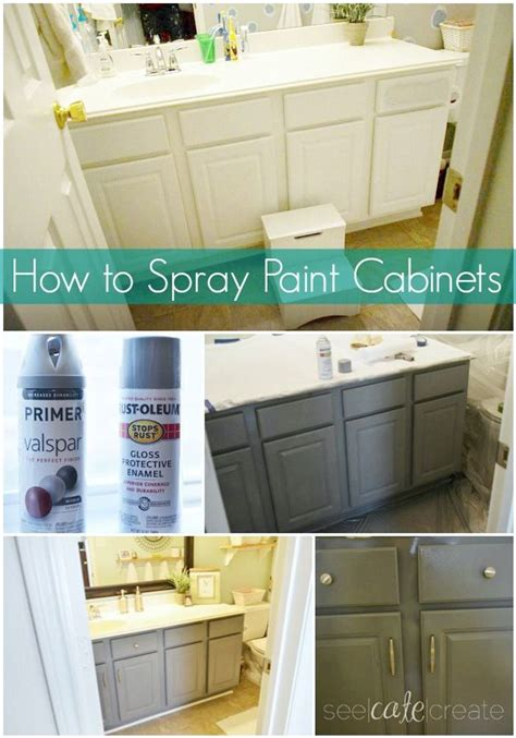 ready to paint kitchen cabinets incredible bathroom makeover ideas anyone can diy spray