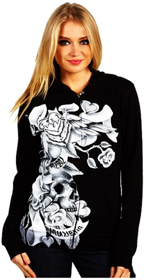 Hoodiesweaterjaket Fox metal mulisha fox dc shoes black hoodie sweater jacket skull pink sinful top ebay
