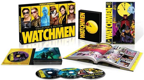 Watchmen The Ultimate Cut Dvd watchmen ultimate cut graphic novel collection due on november 13 2012