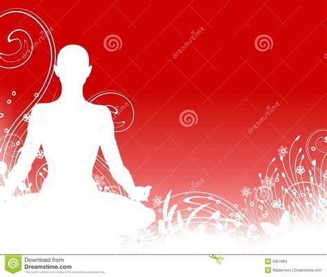 imagenes de fondo yoga fondo de la silueta de la yoga imagenes de archivo